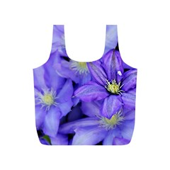 Purple Wildflowers For Fms Reusable Bag (S)