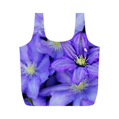Purple Wildflowers For Fms Reusable Bag (M)