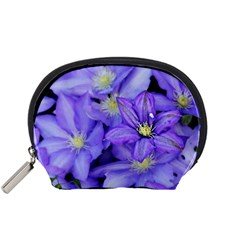 Purple Wildflowers For Fms Accessory Pouch (small)