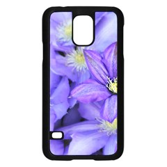 Purple Wildflowers For Fms Samsung Galaxy S5 Case (Black)