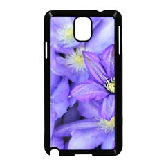 Purple Wildflowers For Fms Samsung Galaxy Note 3 Neo Hardshell Case (black)