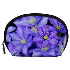Purple Wildflowers For Fms Accessory Pouch (Large)