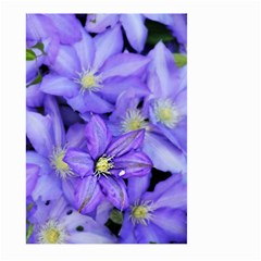 Purple Wildflowers For Fms Large Garden Flag (two Sides)