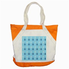 Anchors In Blue And White Accent Tote Bag