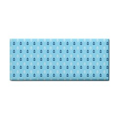 Anchors In Blue And White Hand Towel
