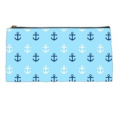 Anchors In Blue And White Pencil Case