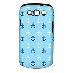 Anchors In Blue And White Samsung Galaxy S Iii Classic Hardshell Case (pc+silicone)