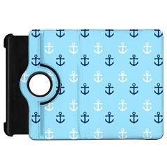 Anchors In Blue And White Kindle Fire Hd 7  (1st Gen) Flip 360 Case