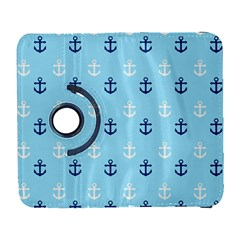 Anchors In Blue And White Samsung Galaxy S  III Flip 360 Case