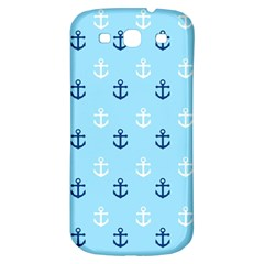 Anchors In Blue And White Samsung Galaxy S3 S Iii Classic Hardshell Back Case