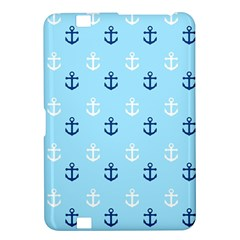 Anchors In Blue And White Kindle Fire Hd 8 9  Hardshell Case