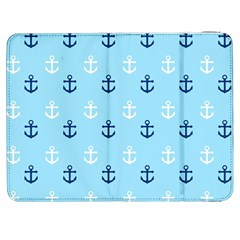 Anchors In Blue And White Samsung Galaxy Tab 7  P1000 Flip Case