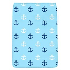Anchors In Blue And White Removable Flap Cover (small)