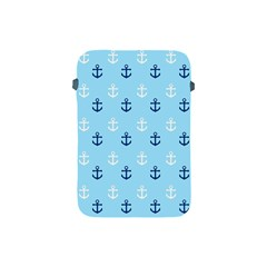 Anchors In Blue And White Apple Ipad Mini Protective Sleeve