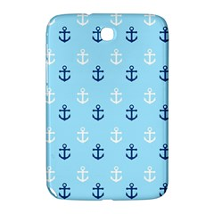 Anchors In Blue And White Samsung Galaxy Note 8.0 N5100 Hardshell Case