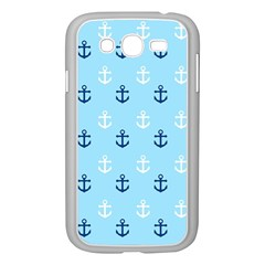 Anchors In Blue And White Samsung Galaxy Grand Duos I9082 Case (white)