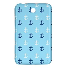 Anchors In Blue And White Samsung Galaxy Tab 3 (7 ) P3200 Hardshell Case