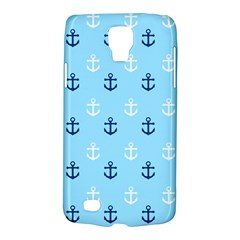 Anchors In Blue And White Samsung Galaxy S4 Active (I9295) Hardshell Case