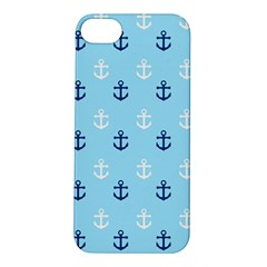 Anchors In Blue And White Apple Iphone 5s Hardshell Case