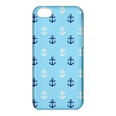 Anchors In Blue And White Apple Iphone 5c Hardshell Case