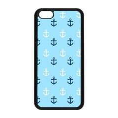 Anchors In Blue And White Apple iPhone 5C Seamless Case (Black)