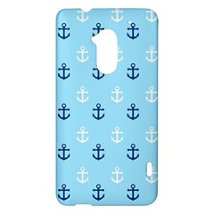 Anchors In Blue And White HTC One Max (T6) Hardshell Case