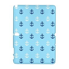 Anchors In Blue And White Samsung Galaxy Note 10.1 (P600) Hardshell Case