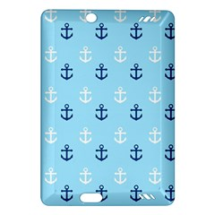 Anchors In Blue And White Kindle Fire HD 7  (2nd Gen) Hardshell Case