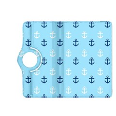 Anchors In Blue And White Kindle Fire Hdx 8 9  Flip 360 Case