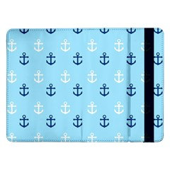 Anchors In Blue And White Samsung Galaxy Tab Pro 12.2  Flip Case