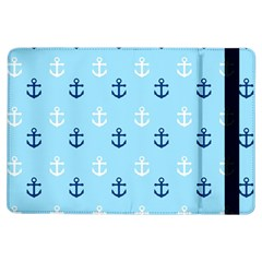 Anchors In Blue And White Apple iPad Air Flip Case