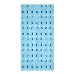 Anchors In Blue And White Shower Curtain 36  X 72  (stall)