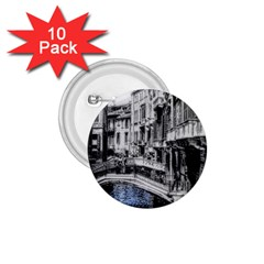 Vintage Venice Canal 1.75  Button (10 pack)
