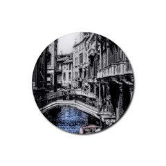 Vintage Venice Canal Drink Coaster (Round)