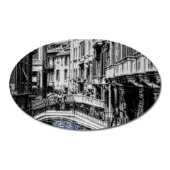 Vintage Venice Canal Magnet (oval)
