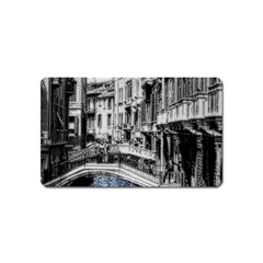 Vintage Venice Canal Magnet (Name Card)