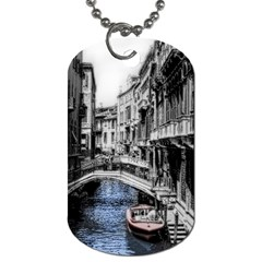 Vintage Venice Canal Dog Tag (One Sided)