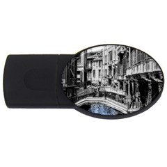 Vintage Venice Canal 2gb Usb Flash Drive (oval)