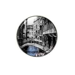 Vintage Venice Canal Golf Ball Marker (for Hat Clip)