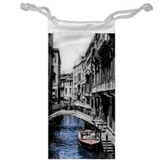 Vintage Venice Canal Jewelry Bag