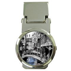 Vintage Venice Canal Money Clip With Watch
