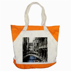 Vintage Venice Canal Accent Tote Bag