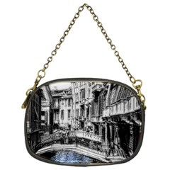 Vintage Venice Canal Chain Purse (one Side)