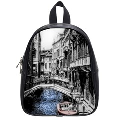 Vintage Venice Canal School Bag (small)