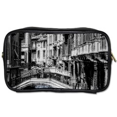 Vintage Venice Canal Travel Toiletry Bag (two Sides)