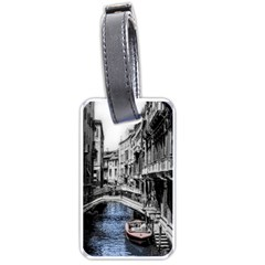 Vintage Venice Canal Luggage Tag (two Sides)