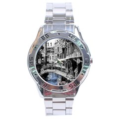Vintage Venice Canal Stainless Steel Watch
