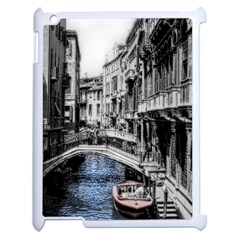 Vintage Venice Canal Apple iPad 2 Case (White)