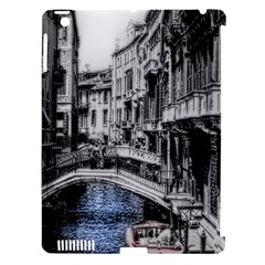 Vintage Venice Canal Apple Ipad 3/4 Hardshell Case (compatible With Smart Cover)