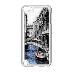 Vintage Venice Canal Apple iPod Touch 5 Case (White)
